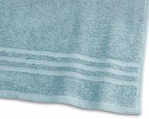 Borganäs of Sweden Guest Towel Basic Terrycloth - Turquoise 30x50 cm
