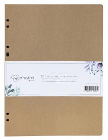 Focus Album sheets Timesaver SA4 - 30 Brown sheets