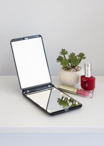 KAILA KAILA Make-up mirror Fold III Black - 12x8 cm