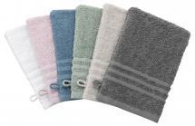 Borganäs of Sweden Wash Glove Basic Terrycloth - Grey 15x21 cm