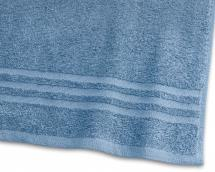 Borganäs of Sweden Towel Basic Terrycloth - Medium Blue 65x130 cm