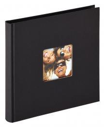 BGA Nordic Fun Album Black - 18x18 cm (30 Black pages / 15 sheets)