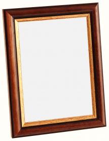 Spegelverkstad Mirror Siljan Brown - Custom Size