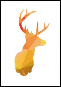 Lagervaror egen produktion Deer - Autum Poster