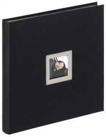 Walther Black & White Photo Album Black - 30x30 cm (50 Black pages / 25 sheets)