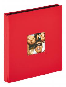"""Walther Fun Album Red - 400 Pictures in 10x15 cm (4x6"""")"""