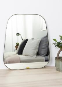 Hübsch Mirror Trapezium Metal 42x48 cm