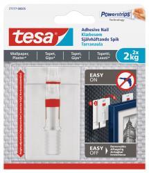 Tesa Tesa - Adjustable self-adhesive nail for all types of wall (max 2x2kg)