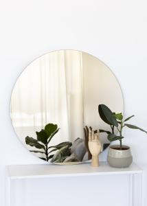 KAILA KAILA Round Mirror Dark Bronze 80 cm