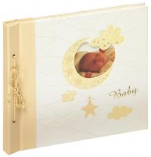 Walther Baby album Bambini Large Cream - 28x25 cm (60 White pages / 30 sheets)
