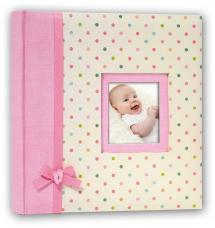 BGA Nordic Kara Baby album Pink - 200 Pictures in 11x15 cm
