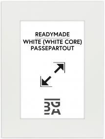Galleri 1 Mount White (White Core) 40x50 cm (28,7x41 - A3)