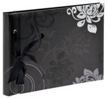 Walther Grindy Photo album Black - 23.5x16 cm (40 Black pages / 20 sheets)