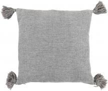 Miljögården Cushion Cover Tassle - Grey 45x45 cm