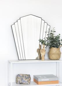 KAILA KAILA Mirror Fan - Black 63x70 cm