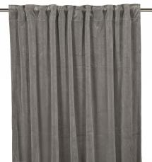 Fondaco Multiway Curtains Velvet - Grey 2-pack