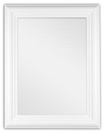 Spegelverkstad Mirror Siljan White - Custom Size