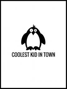 Bildverkstad Pingvin Cool Poster