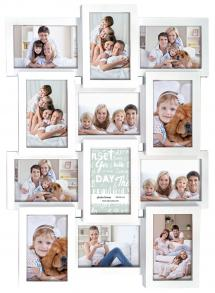 ZEP Multiple frame white Collage frame - 12 Pictures