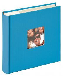 """Walther Fun Album Memo Sea blue - 200 Pictures in 10x15 cm (4x6"""")"""
