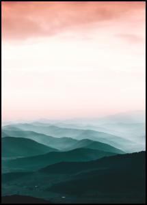Lagervaror egen produktion Colorful View Poster