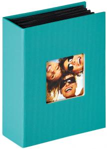 """Walther Fun Album Turqouise - 100 Pictures in 10x15 cm (4x6"""")"""