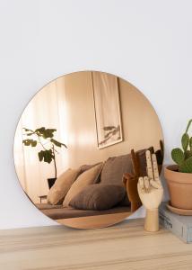 KAILA KAILA Round Mirror Rose Gold 50 cm Ø