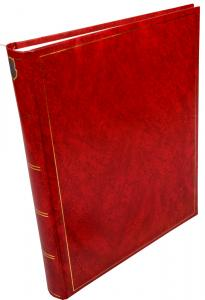 Henzo Henzo Basic Line Photo album Red - 30x36 cm (80 White pages / 40 sheets)