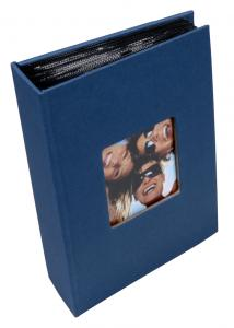 """Walther Fun Photo Album Blue - 100 Pictures in 10x15 cm (4x6"""")"""