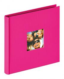 Walther Fun Album Pink - 18x18 cm (30 Black pages / 15 sheets)