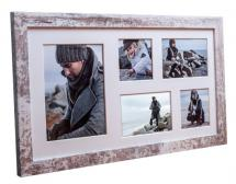 Estancia Superb AA Collage frame - 5 Pictures