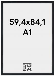 Estancia Frame Stilren Acrylic glass Black 59,4x84,1 cm (A1)