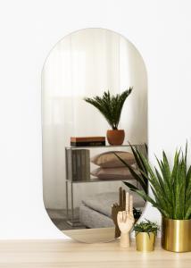 KAILA KAILA Mirror Oval Dark Bronze 50x100 cm