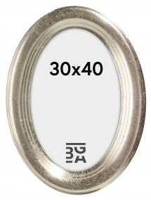 Bubola e Naibo Molly Oval Silver 30x40 cm