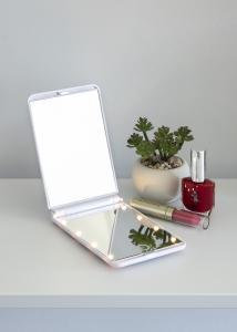 KAILA KAILA Make-up mirror Fold III White - 12x8 cm