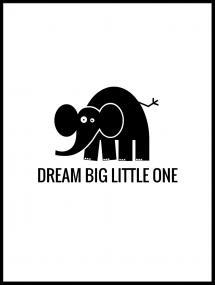Lagervaror egen produktion Elefant Dream Poster