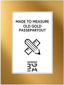 Egen tillverkning - Passepartouter Mount Old Gold - Custom Size