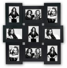ZEP Vicenza Black Collage frame - 9 Pictures