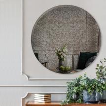 Incado Mirror Prestige Oxidized 60 cm Ø