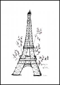 Bildverkstad Spring in Paris Poster