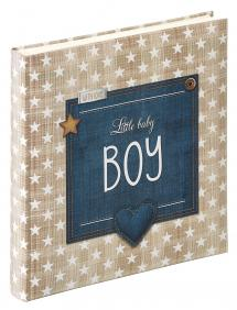 Walther Little Baby album Boy Blue - 28x30.5 cm (50 White pages / 25 sheets)