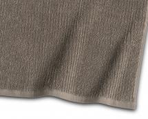 Borganäs of Sweden Bath Towel Stripe Terrycloth - Brown 90x150 cm