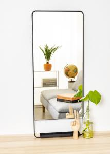 Society of Lifestyle Mirror House Doctor Chic Black 45x110 cm
