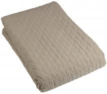 Fondaco Throw Paz Double bed 260x260 cm - Flax