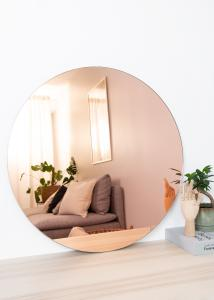 Incado Mirror Premium Rose Gold 80 cm Ø
