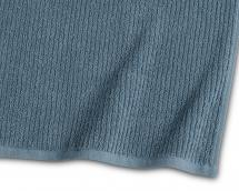 Borganäs of Sweden Towel Stripe Terrycloth - Blue 65x130 cm