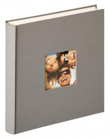 Walther Fun Design Grey - 30x30 cm (100 White pages / 50 sheets)