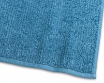 Borganäs of Sweden Hand Towel Stripe Terrycloth - Turquoise 50x70 cm