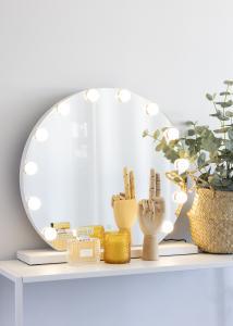 KAILA KAILA Make-up mirror V White - 50x48 cm
