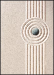 Bildverkstad Circle Sand Poster